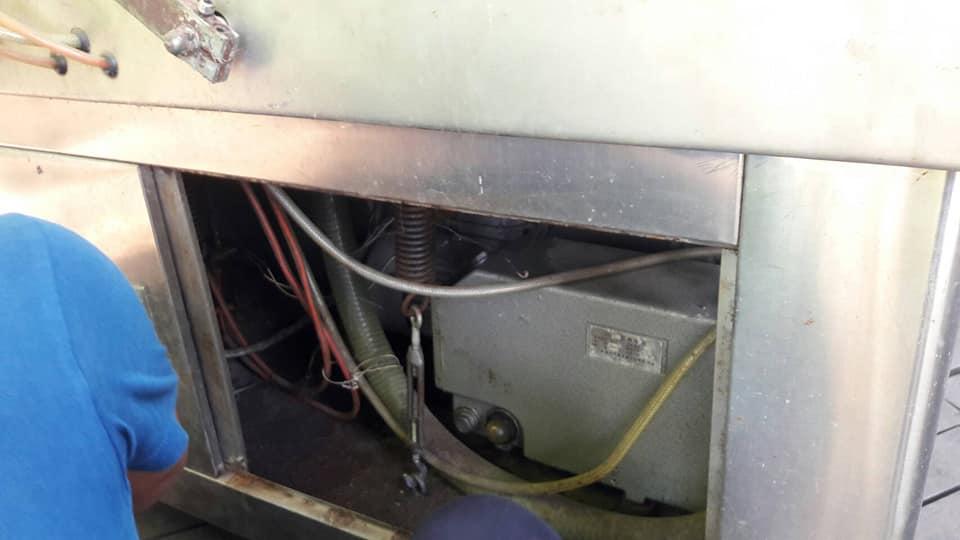 ซ่อมเครื่องซีลสูญญากาศ-ปั๊มไม่ดูดอากาศ