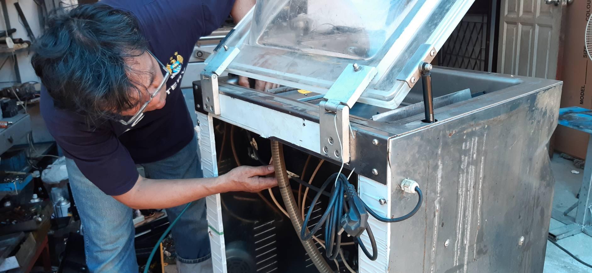 ซ่อมเครื่องซีลสูญญากาศ